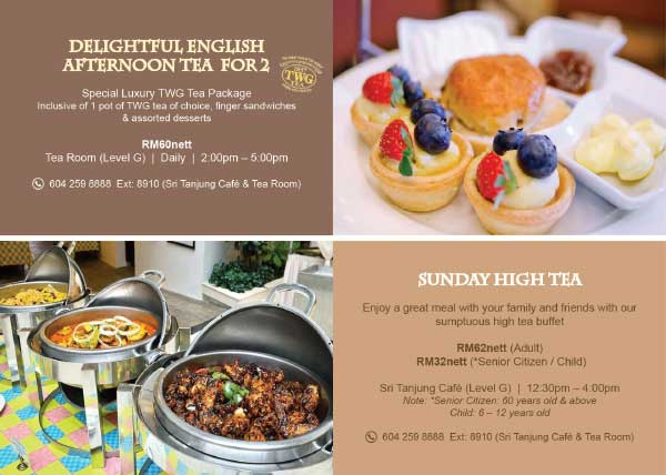 Delightful English Afternoon Tea For 2