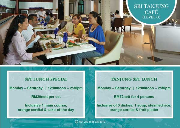 Sri Tanjung Cafe Set Lunch Special