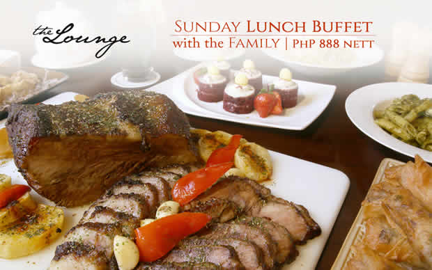 Eastwood Richmonde Hotel in Quezon City, Philippines - SUNDAY FAMILY LUNCH BUFFET