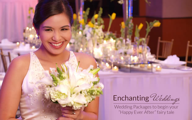 Eastwood Richmonde Hotel in Quezon City, Philippines - ENCHANTING WEDDINGS