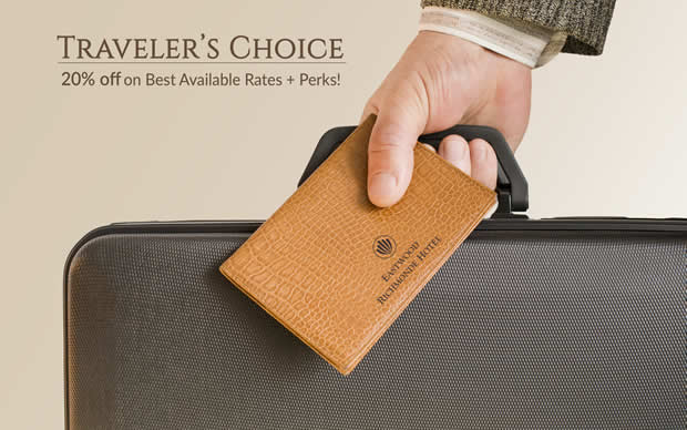 Eastwood Richmonde Hotel - TRAVELER'S CHOICE PACKAGE