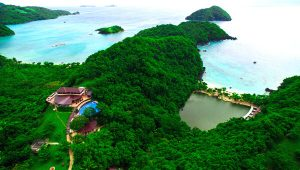 Tugawe Cove Resort in Caramoan, Camarines Sur, Philippines - Aerial View of the Resort