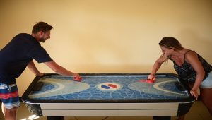 Tugawe Cove Resort in Caramoan, Camarines Sur, Philippines - Game Room - Air Hockey