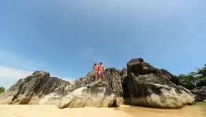 Tugawe Cove Resort in Caramoan, Camarines Sur, Philippines - Rock Formation