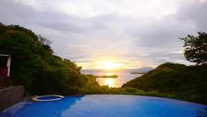 Tugawe Cove Resort in Caramoan, Camarines Sur, Philippines - Sunset View