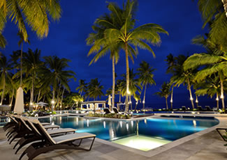 Resort Alona Beach in Panglao Island Bohol Philippines