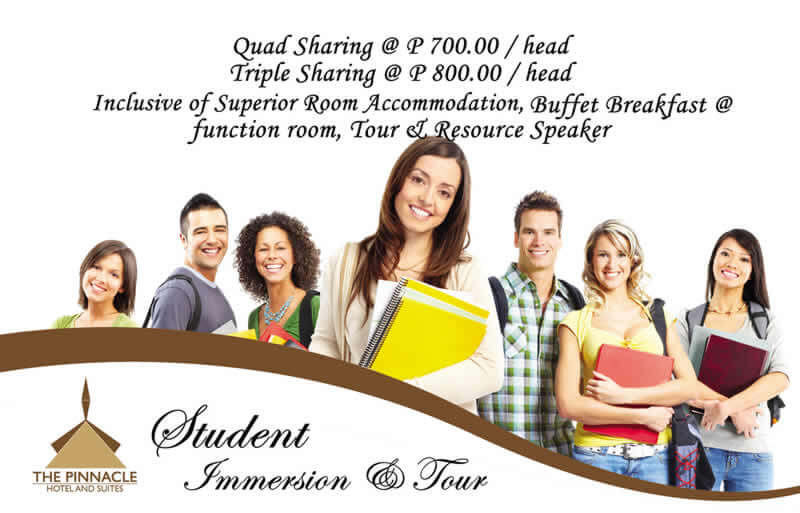 Student Immersion & Tour Packages 2017