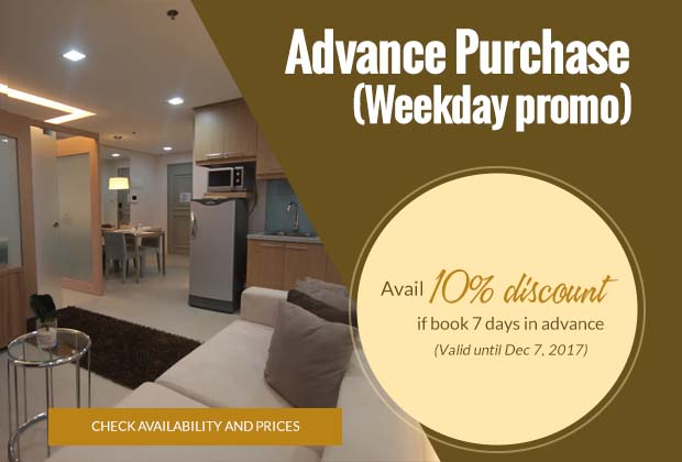 BSA Twin Towers in Mandaluyong City, Philippines - Advance Purchase Weekday Promo