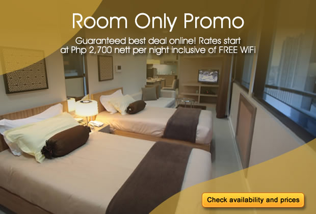 BSA Twin Towers in Mandaluyong City, Philippines - Room Only Promo