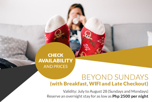 BSA Twin Towers in Mandaluyong City, Philippines - Beyond Sundays  with Breakfast