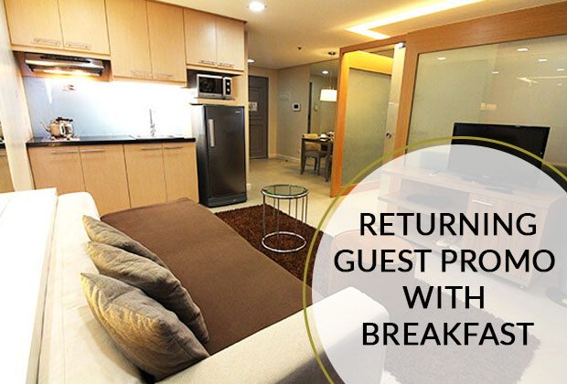 BSA Twin Towers in Mandaluyong City, Philippines - RETURNING GUEST PROMO WITH BREAKFAST