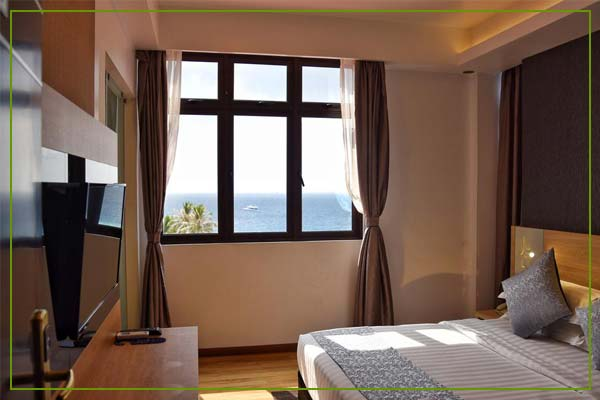Arena Beach Hotel - Deluxe Seaview Room