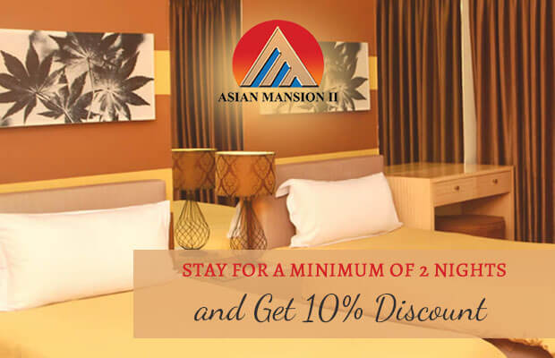 Asian Mansion II Hotel in Makati City, Philippines - Stay for a Minimum of 2 Nights
