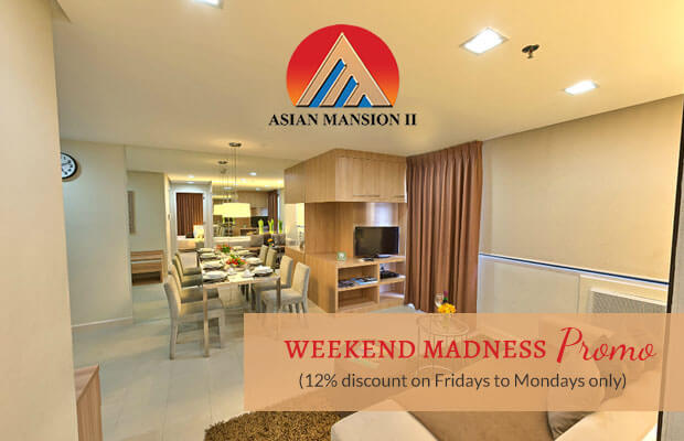 Asian Mansion II Hotel in Makati City, Philippines - Weekend Madness Promo