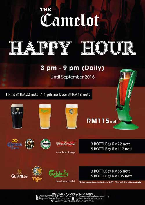 Royale-Chulan-Damansara-The-Camelot-Happy-Hour