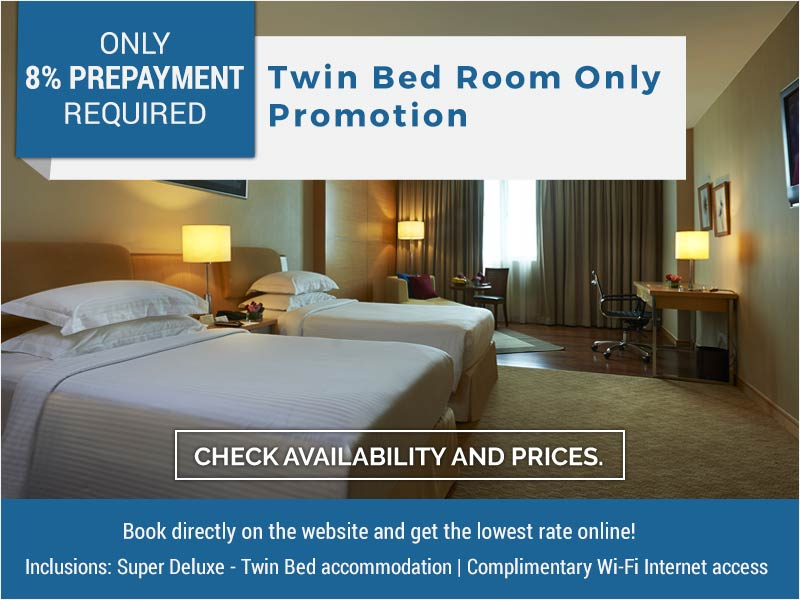 Royale Chulan  The Curve - Twin Bed Room Only Promotion