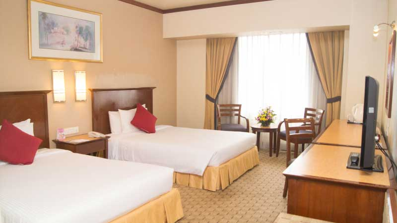 Quality Hotel - Family Deluxe Double Queen Bed