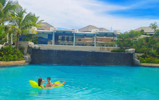Be Grand Resort in Bohol, Philippines
