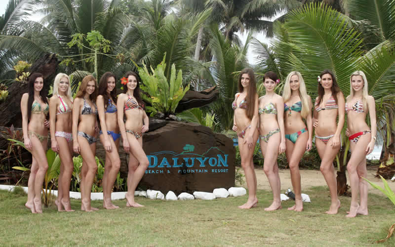Daluyon Beach and Mountain Resort in Palawan, Philippines