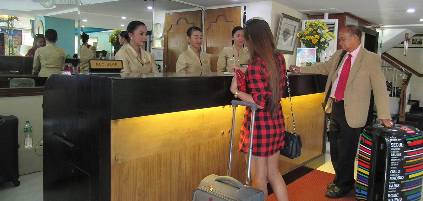 The Corporate Inn Hotel in Maria Orosa Street, corner T.M. Kalaw, Ermita, Manila 1000