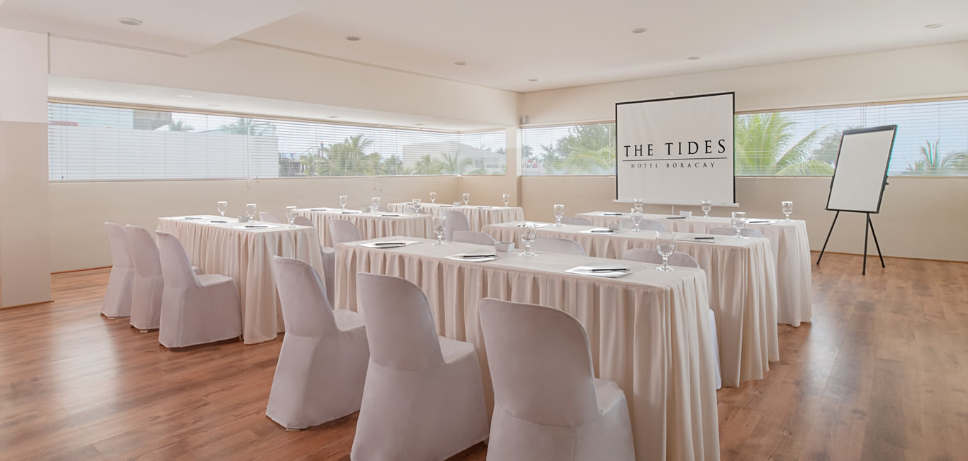 The Tides Hotel Boracay in Boracay Island, Philippines