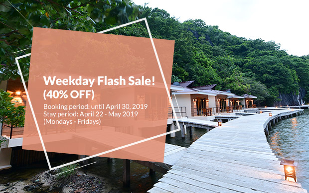 Tugawe Cove Resort in Caramoan, Camarines Sur, Philippines - Weekday Flash Sale! (40% OFF)