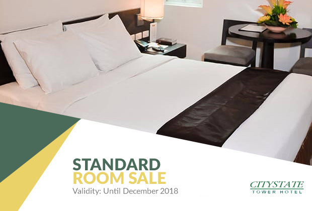 Citystate Tower Hotel in Manila, Philippines - Standard Room Sale!