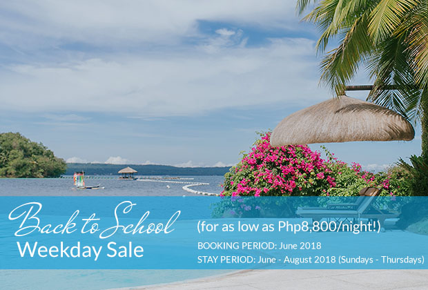 Pearl Farm Beach Resort - Back to School Weekday Sale (for as low as Php8,800/night!)