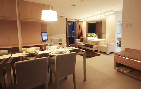 BSA Twin Towers in Mandaluyong City, Philippines - Two Bedroom Executive Suite