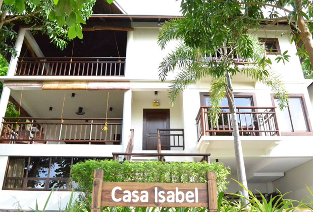 Palm Beach Resort in Laiya, Batangas, Philippines - Casa Isabel (Full Unit-5 rooms)