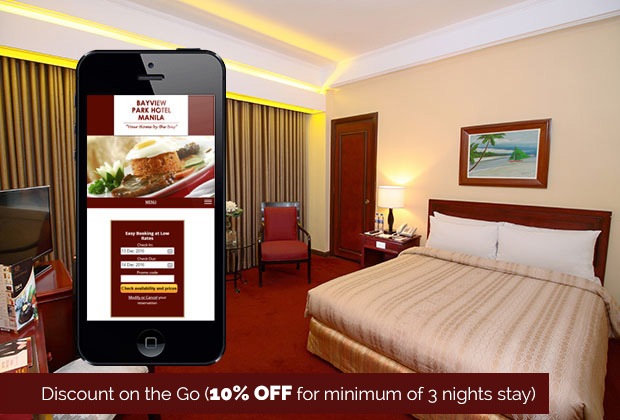 Bayview Park Hotel Manila in Manila, Philippines - Discount on the Go (10% OFF for minimum of 3 nights stay)