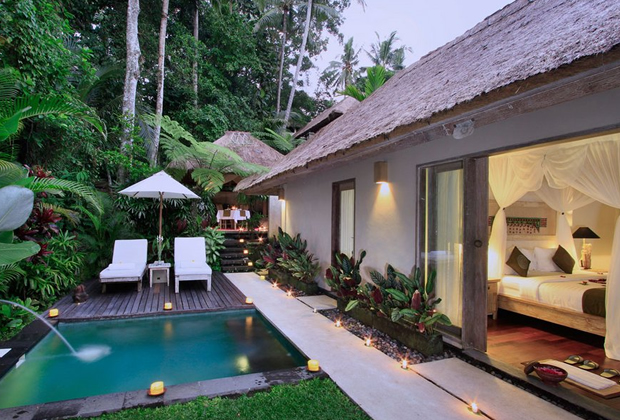 Puri Sunia Resort in Ubud, Indonesia - Sunia Pool Villa